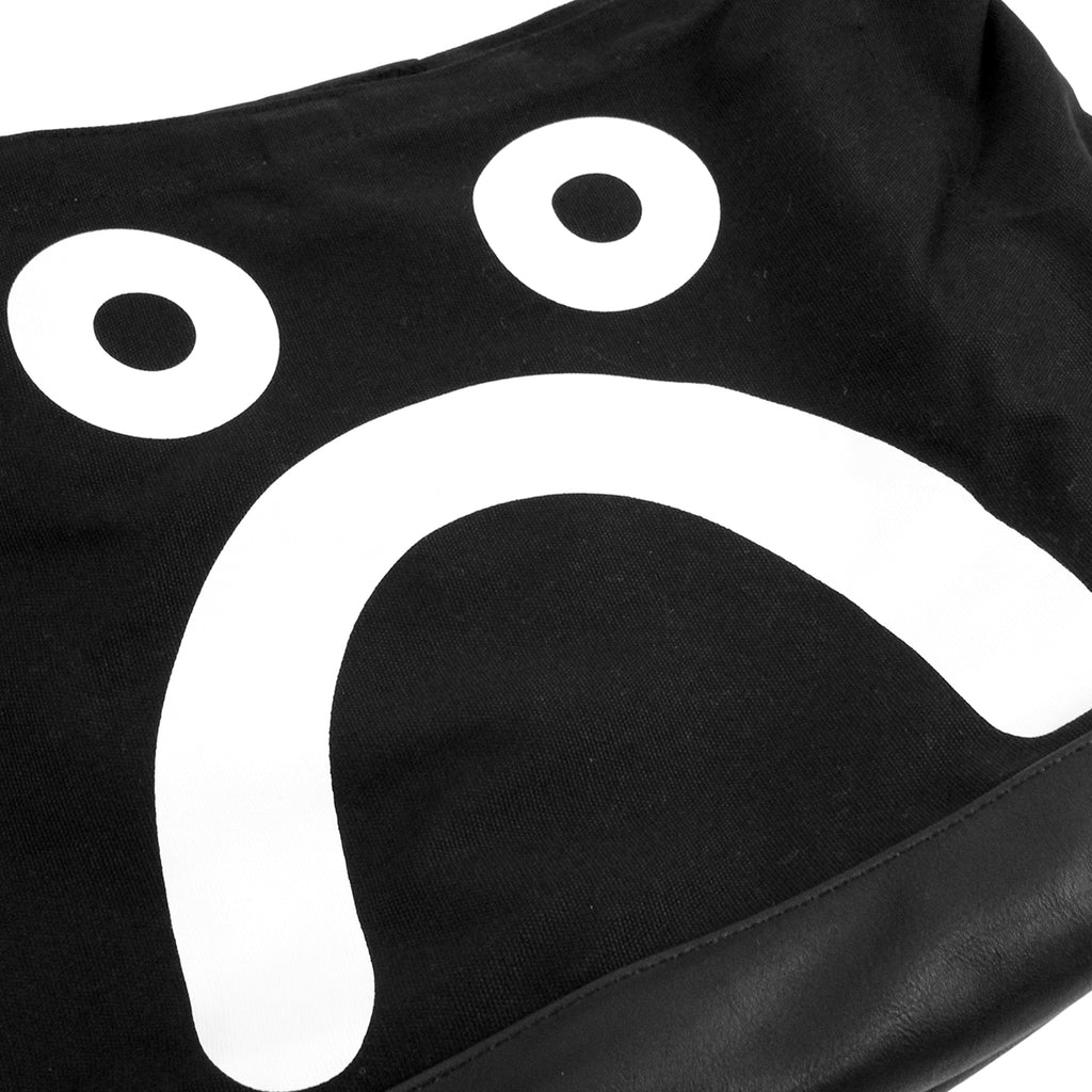 Polar Skate Co Happy Sad Tote in Black / White - Sad 2