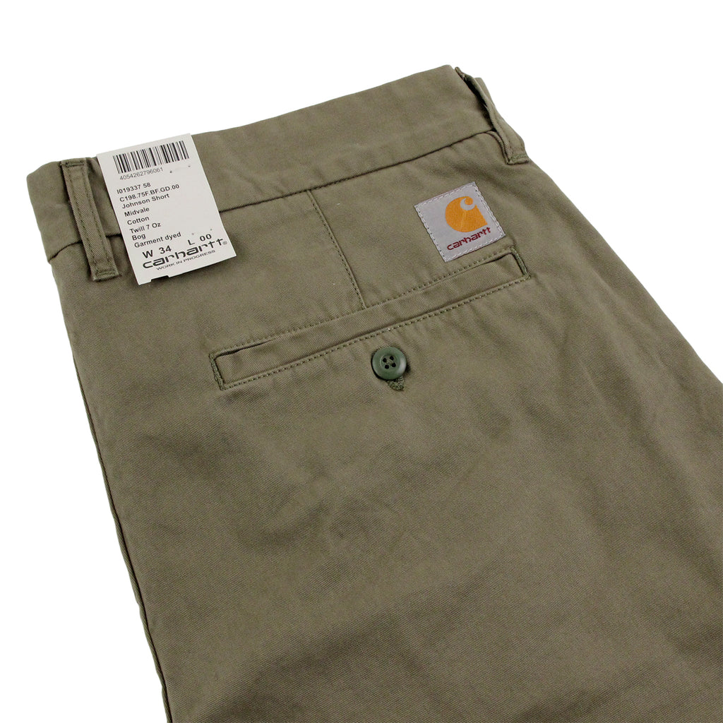 Carhartt WIP Johnson Short in Bog - Detail