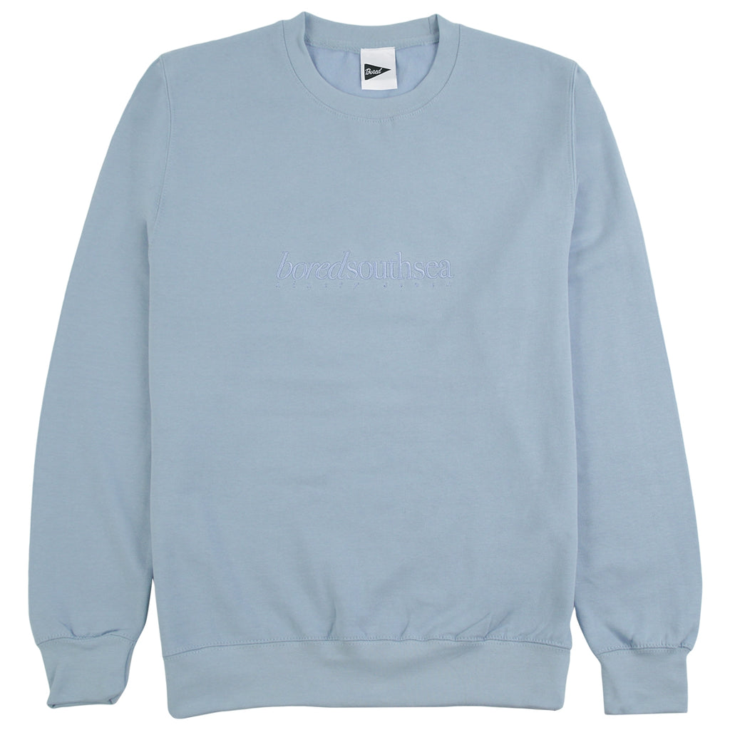 Bored of Southsea Hammer Sweatshirt in Sky Blue / Sky Blue