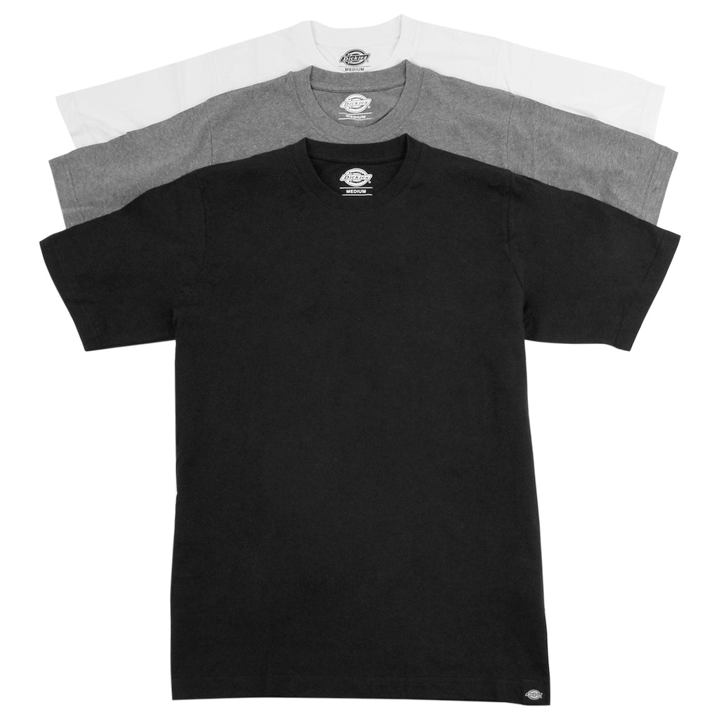 Dickies 3 Pack T Shirts in Mixed