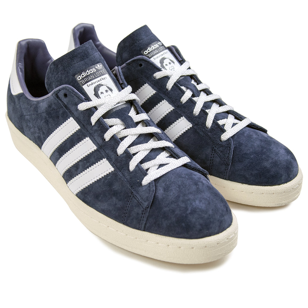Adidas Campus 80s RYR Shoes in Collegiate Navy / Footwear White / Chalk White - Pair