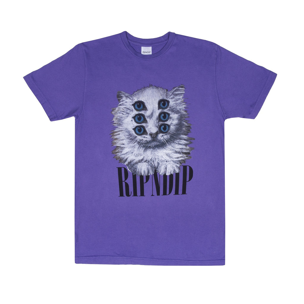 RIPNDIP Triplet T Shirt in Purple
