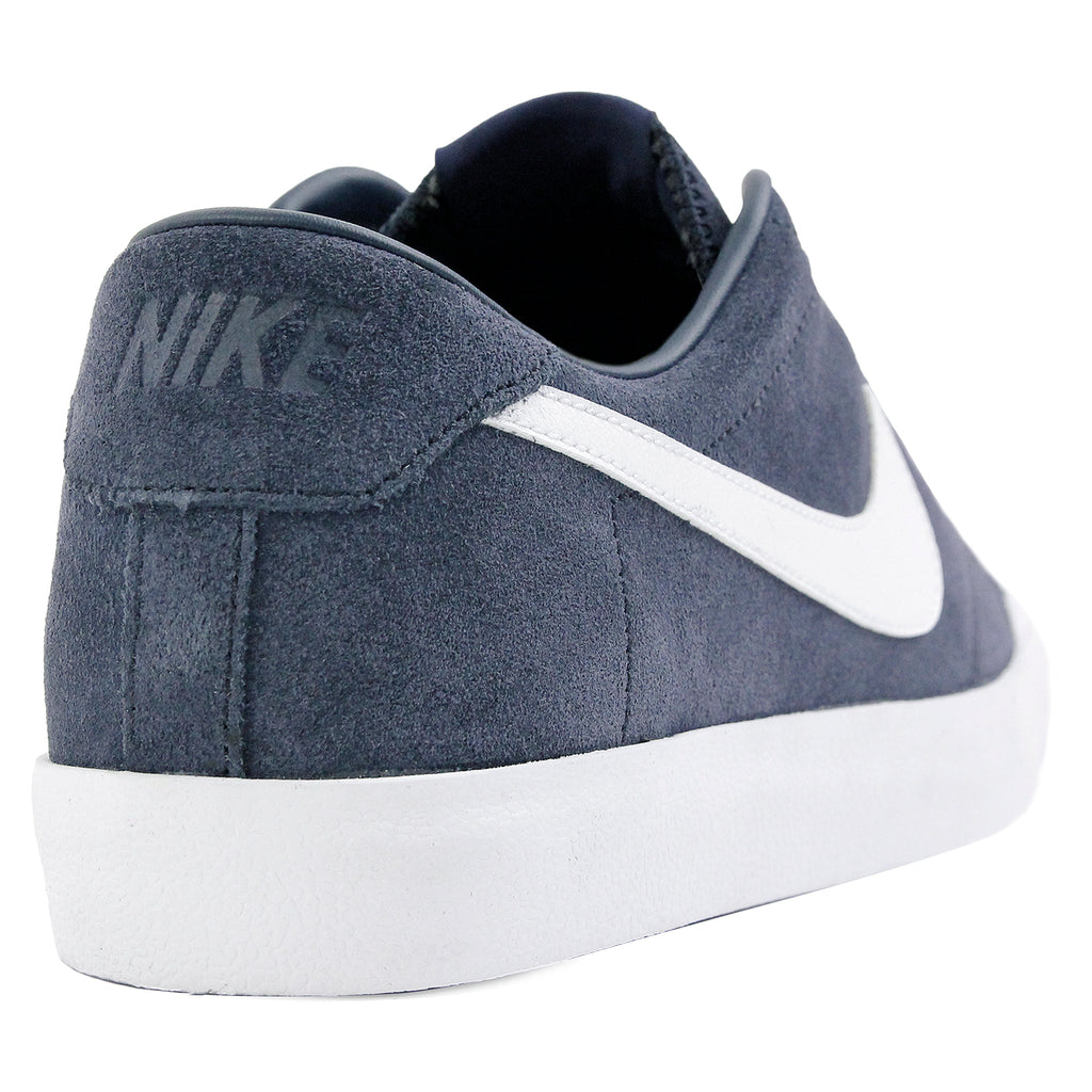 Nike SB Zoom All Court CK QS Shoes in Obsidian / White - Heel