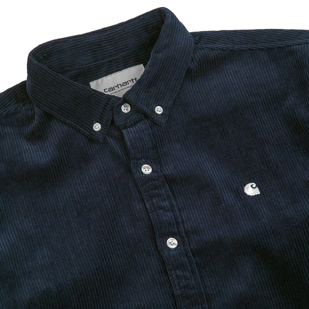 a80fb6ccc61e L/S Madison Cord Shirt in Dark Navy / Wax by Carhartt   Bored of ...