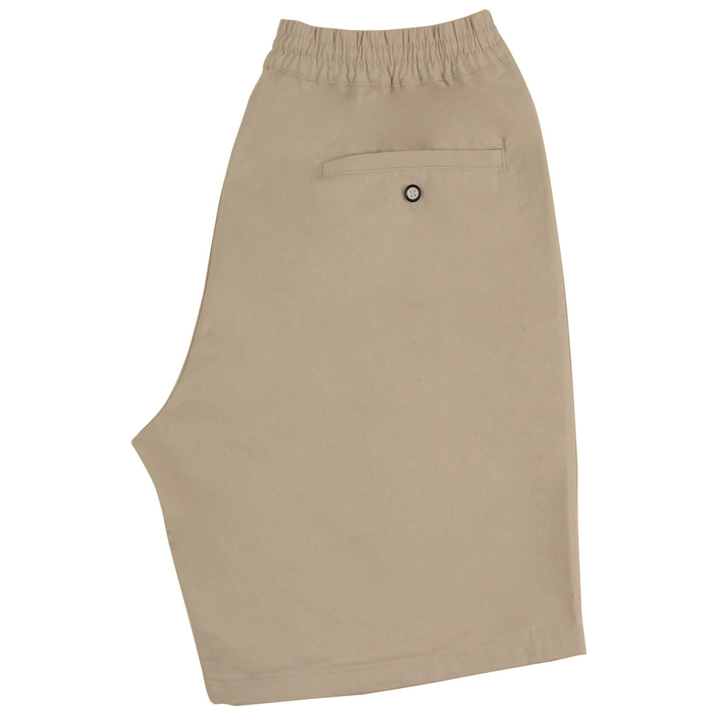 Helas Classic Chino Short in Beige - Back 2