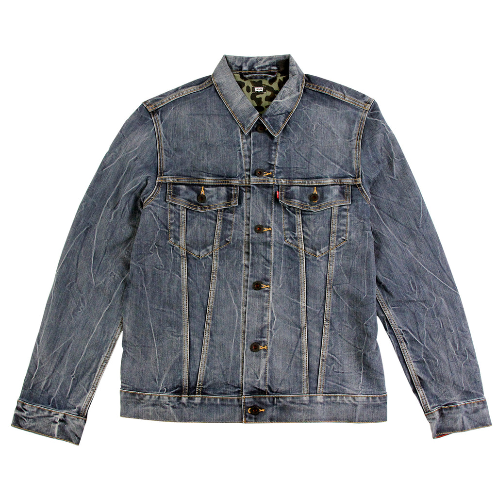 Levis Skateboarding Trucker Jacket in Battery