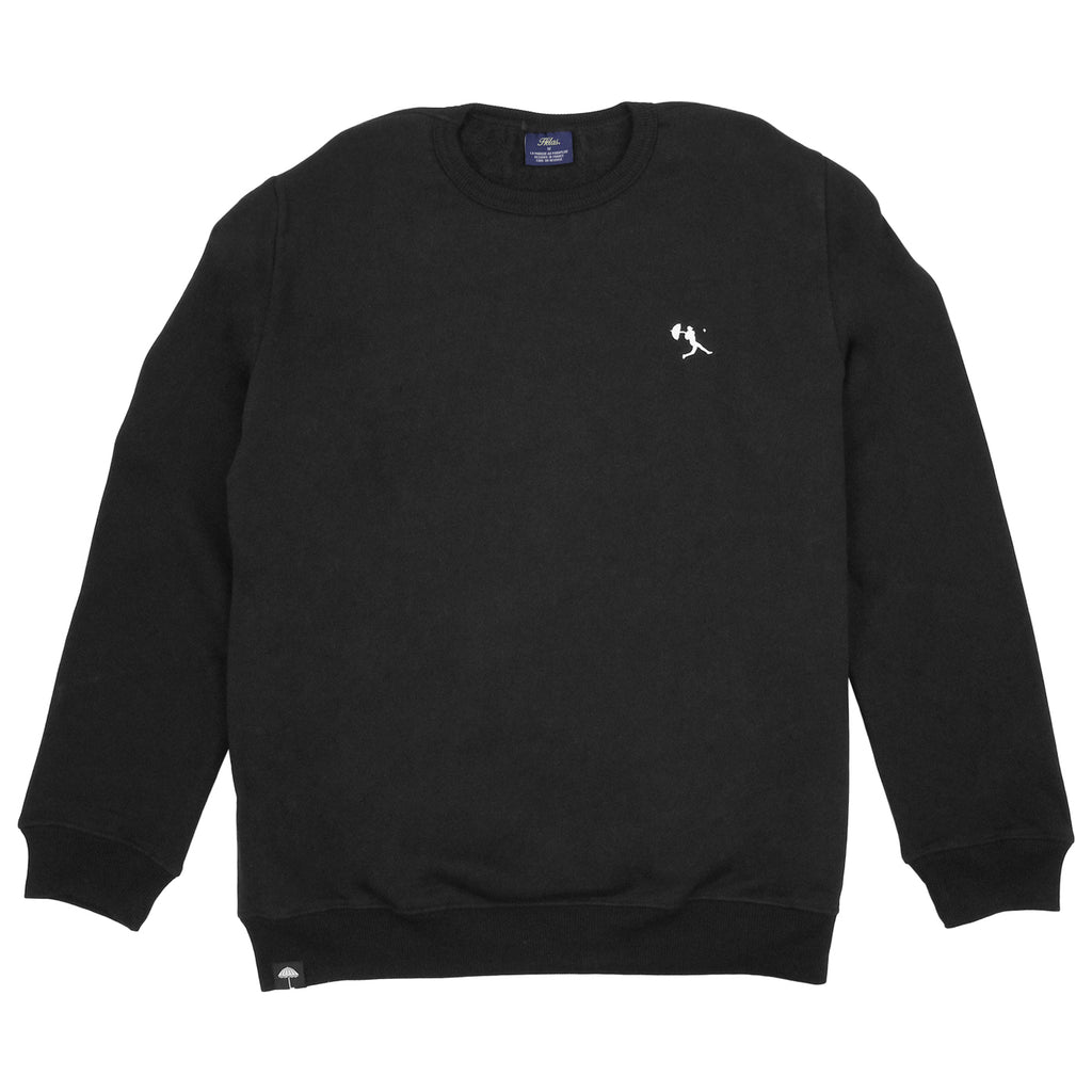 Helas Baller Crewneck Sweatshirt in Black