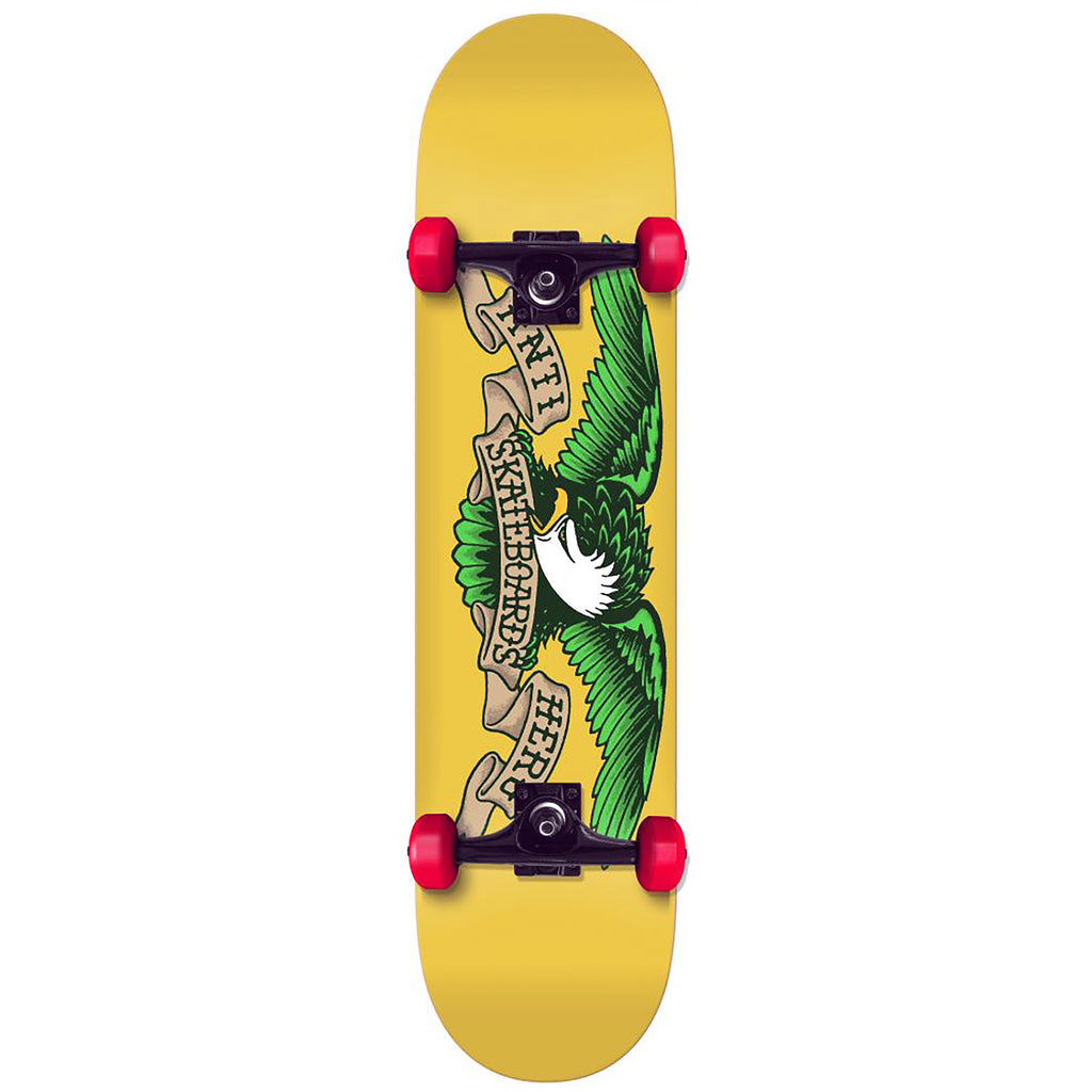 Anti Hero Skateboards Blind Eagle Yellow Complete Skateboard in 7.75""
