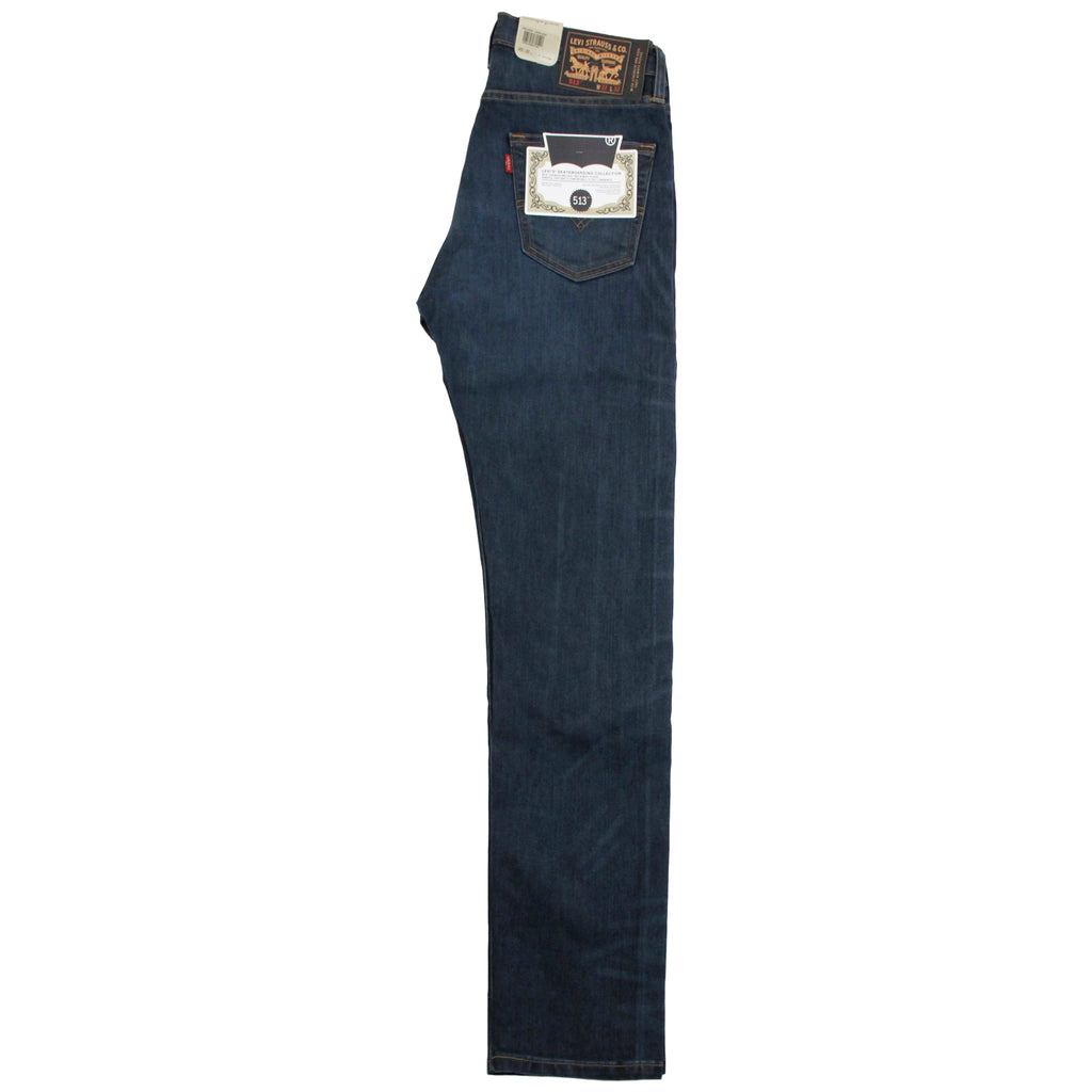 Levis Skateboarding 513 Slim Straight Jeans in EMB- Leg profile