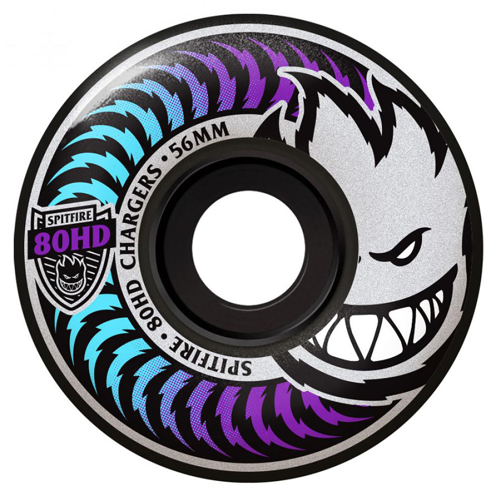 Spitfire Wheels Chargers 80HD Classics Icy Fade Soft Skateboard Wheels in 56mm