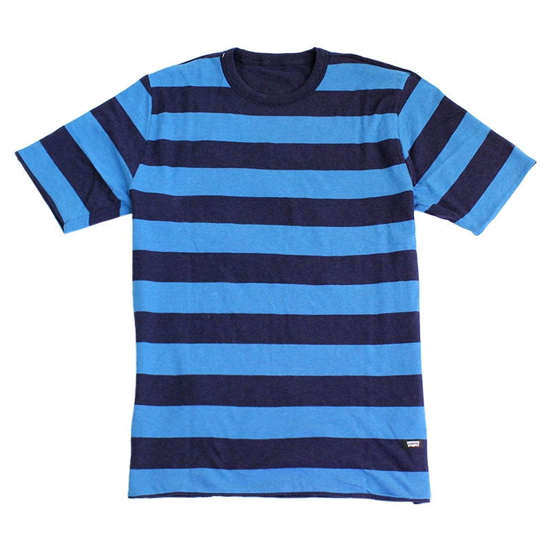 Reversible T Shirt in Brilliant Blue by Levi's Skateboarding Collection
