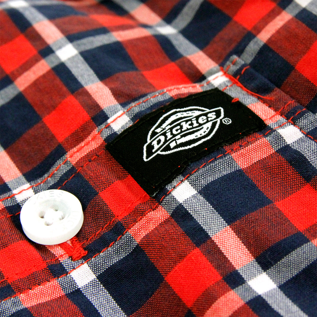 Dickies Laytonville Shirt in Red - Label