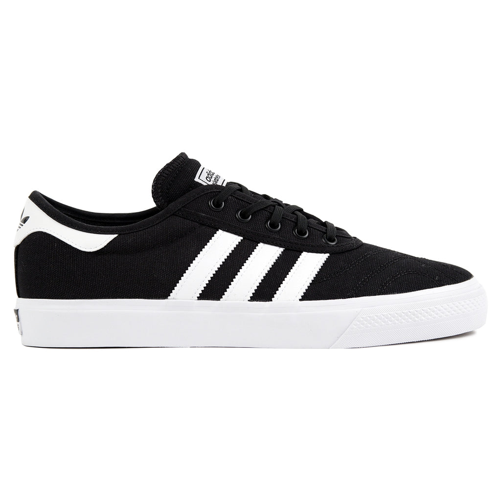 Adidas Skateboarding Adi Ease Premiere Canvas Shoes in Core Black / Footwear White / Gum