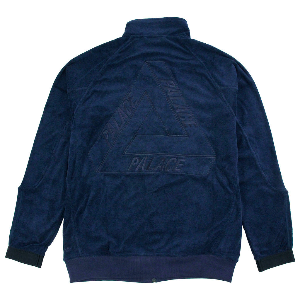 Palace x Adidas Towel Jacket in Night Indigo