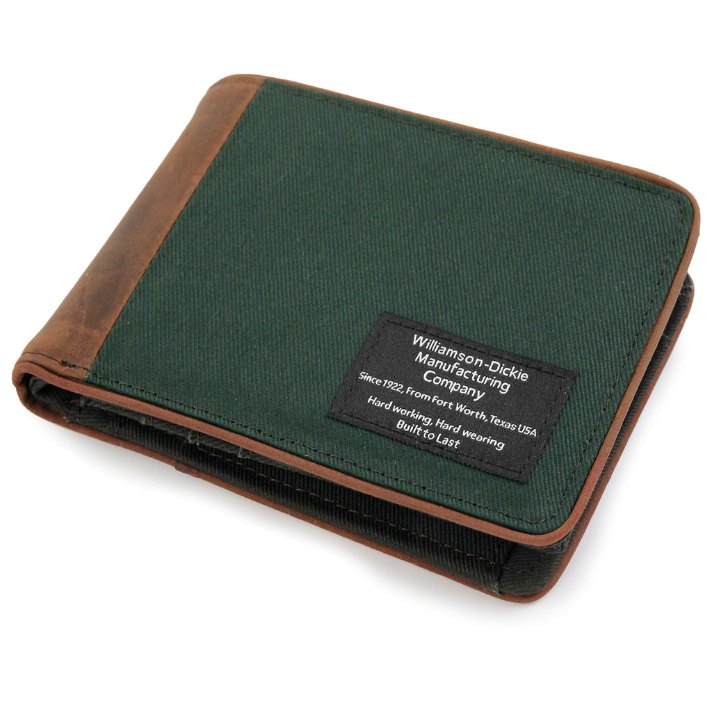 Dickies Edmore Wallet in Olive Green - Detail