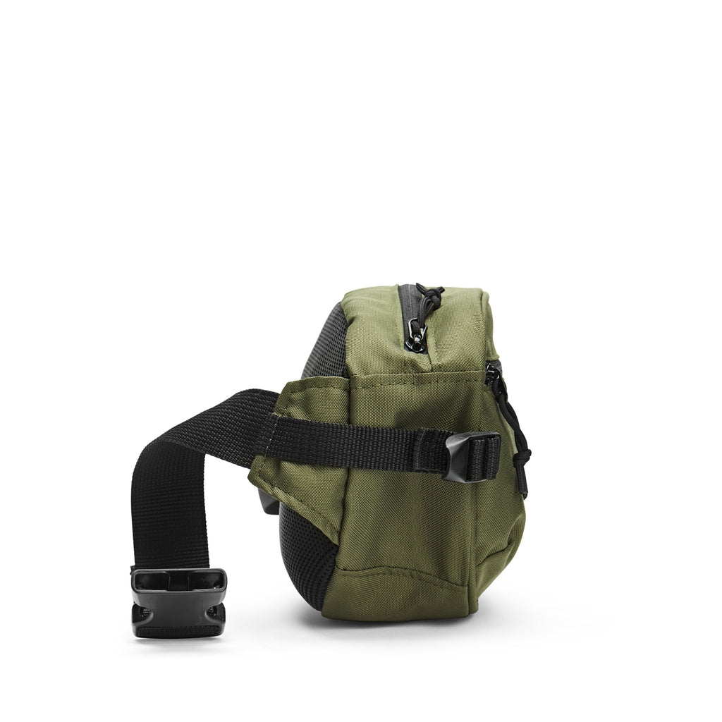 Polar Skate Co Cordura Hip Bag in Olive - Side