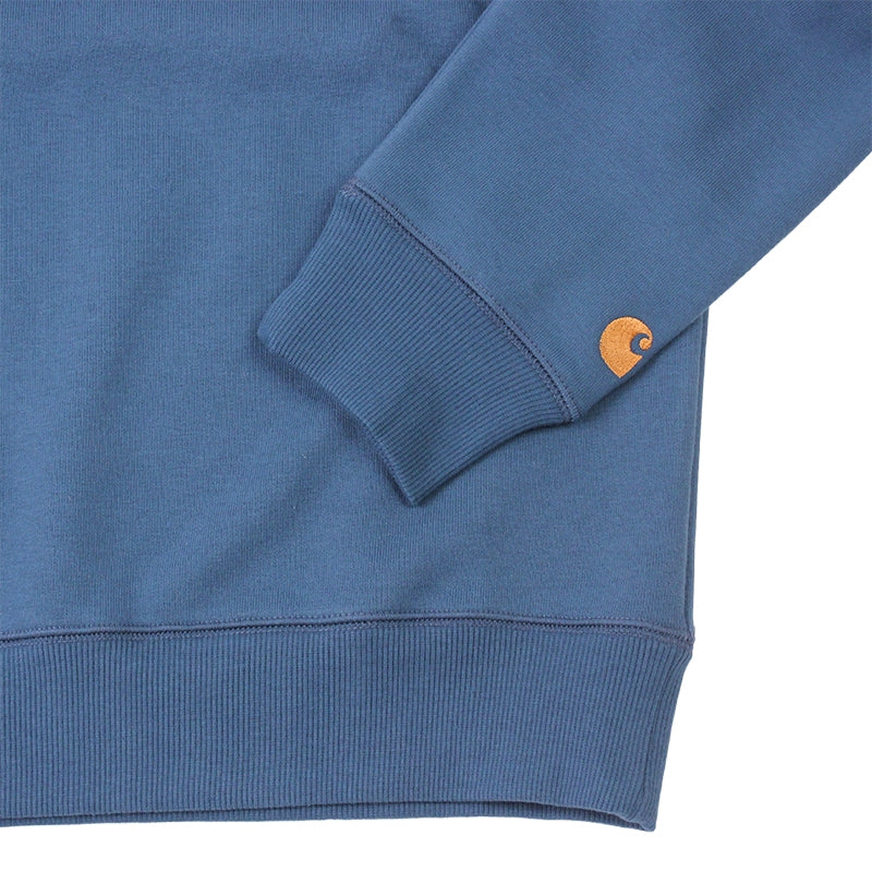 Carhartt WIP Chase Sweat in Monsoon - Sleeves