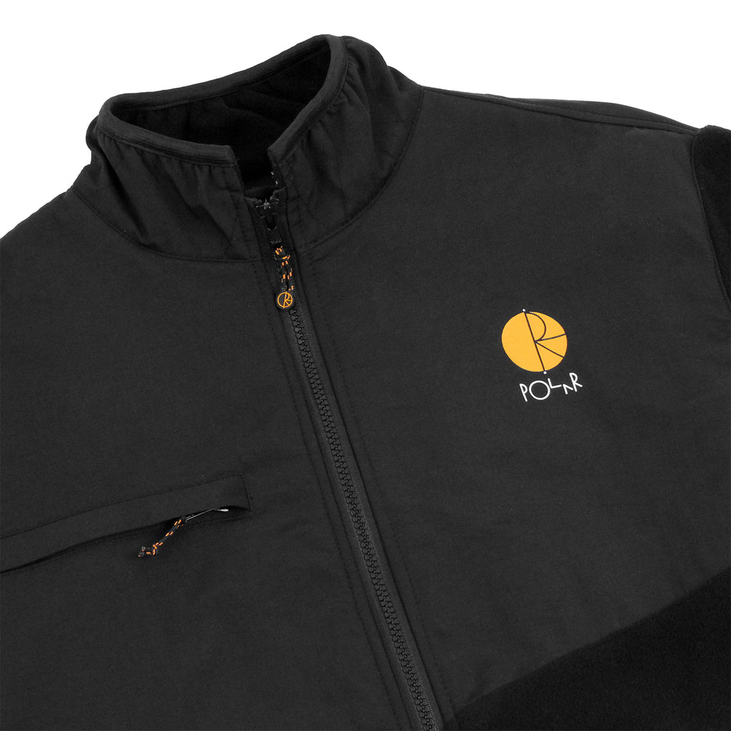 Polar Skate Co Halberg Jacket in Black / Orange - Detail