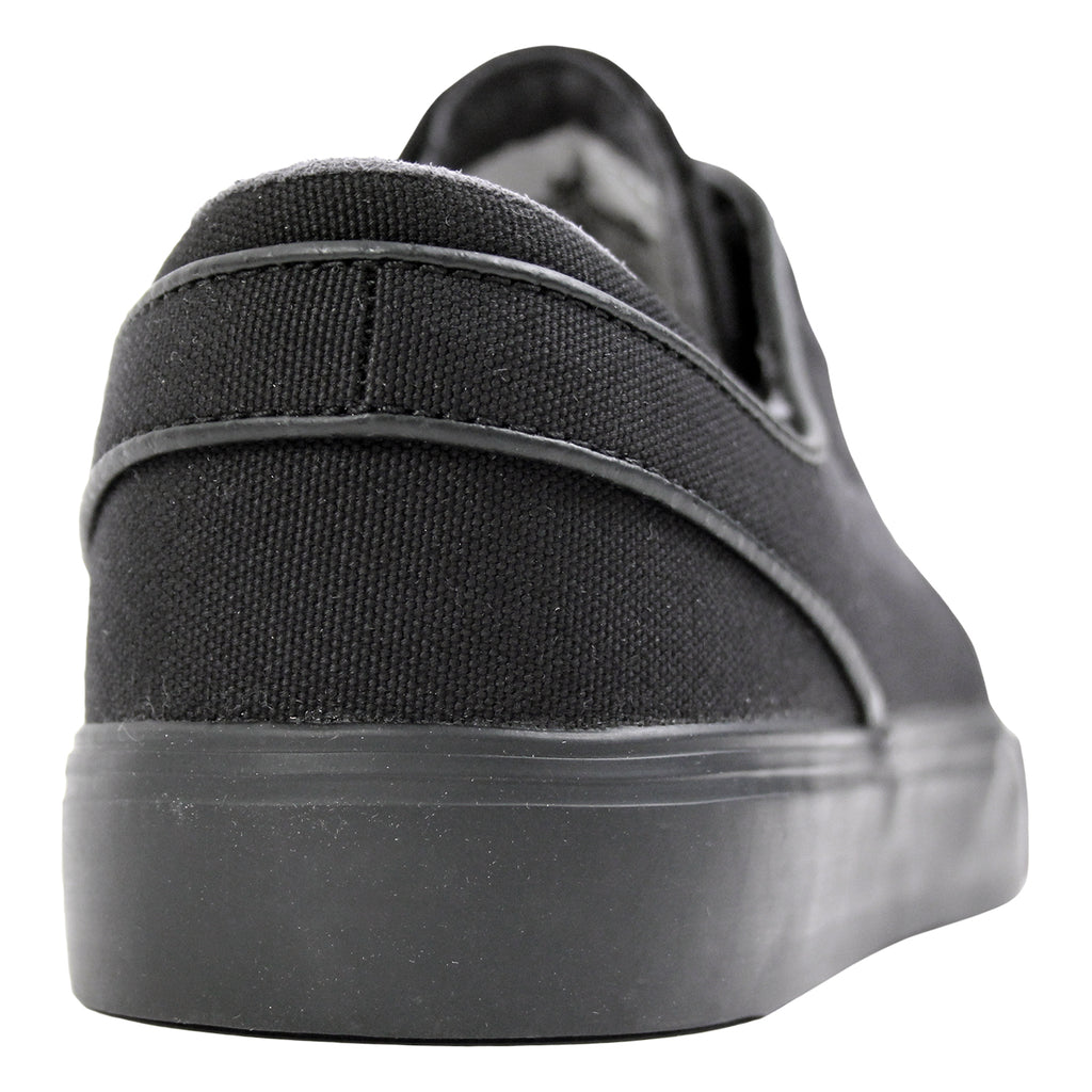 Nike SB Stefan Janoski Canvas Shoes in Black / Anthracite - Heel