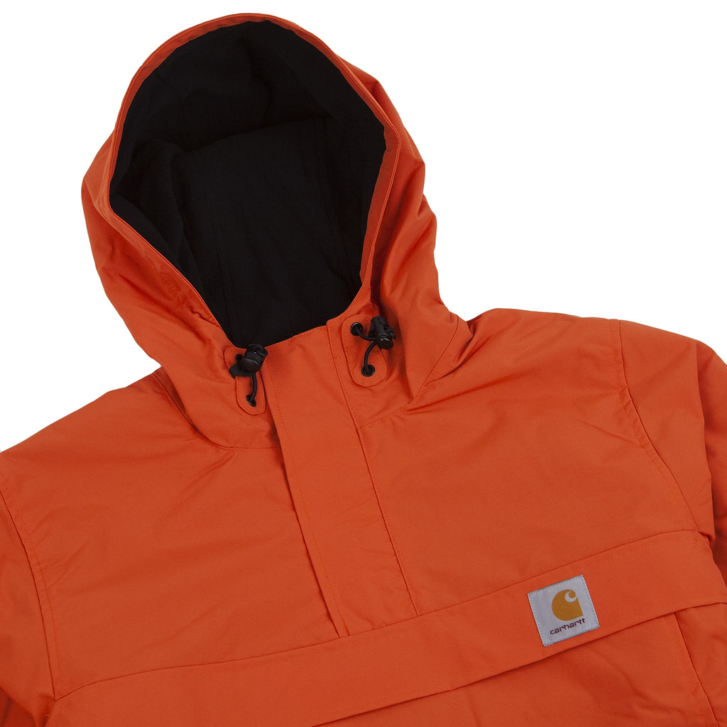 Carhartt Nimbus Pullover Jacket in Persimmon - Detail