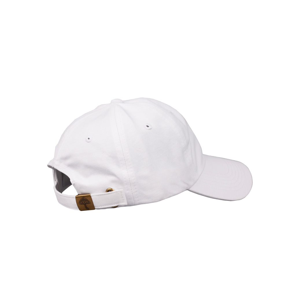 Helas H 6 Panel Cap in White - Side