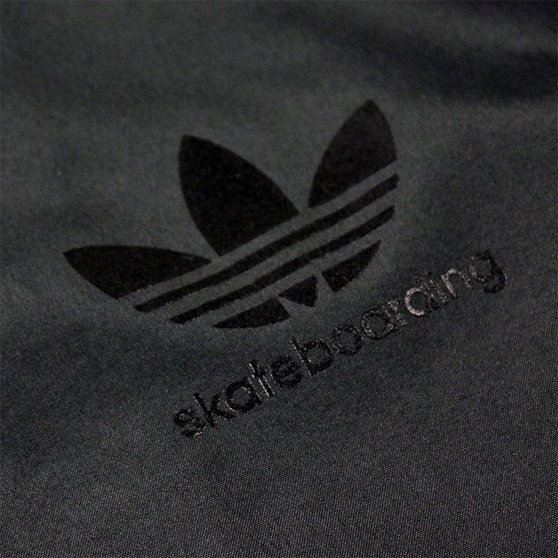 Adidas Skateboarding ADV Wind Jacket in Black/Solid Grey - Adidas Detail