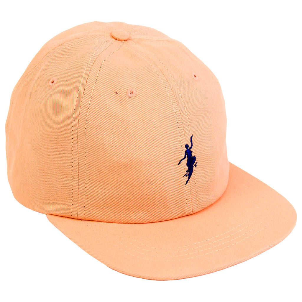 Polar Skate Co No Comply Cap in Peach / Navy