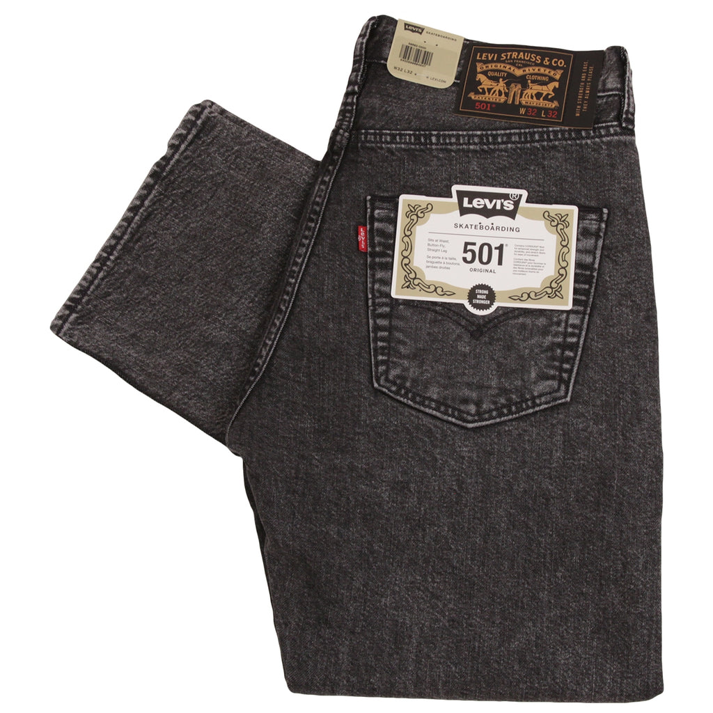 Levis Skateboarding 501 Jeans in Morningside - Folded