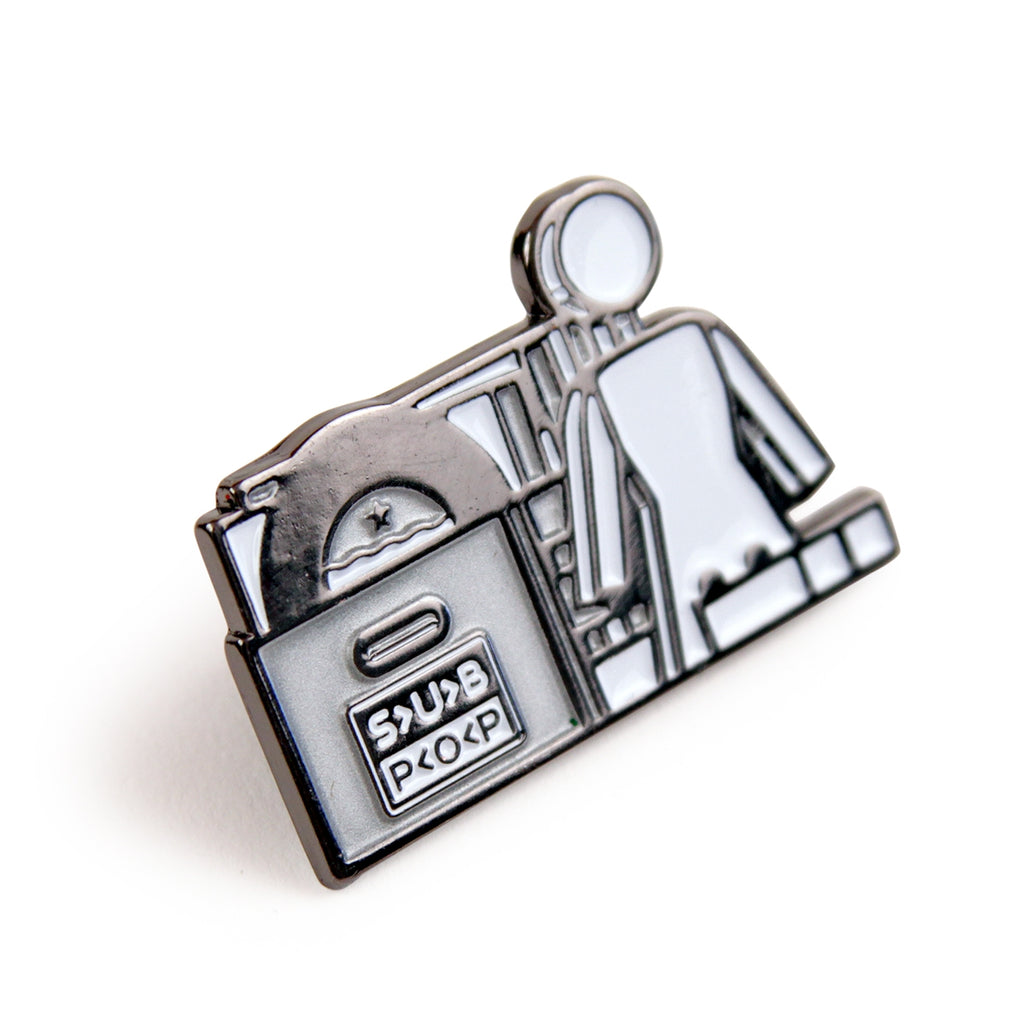 Girl Skateboards x Subpop Stacked Pin - Detail