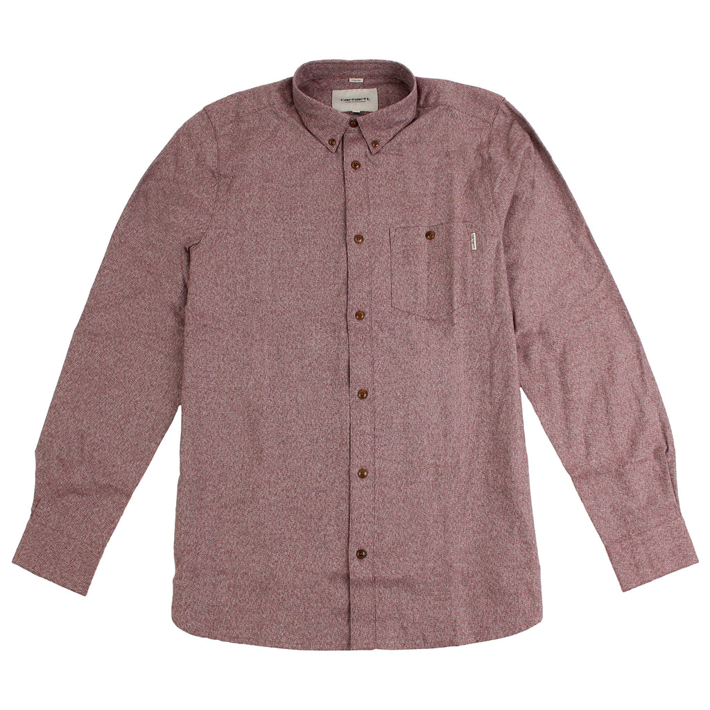 Carhartt L/S Cram Shirt in Cranberry