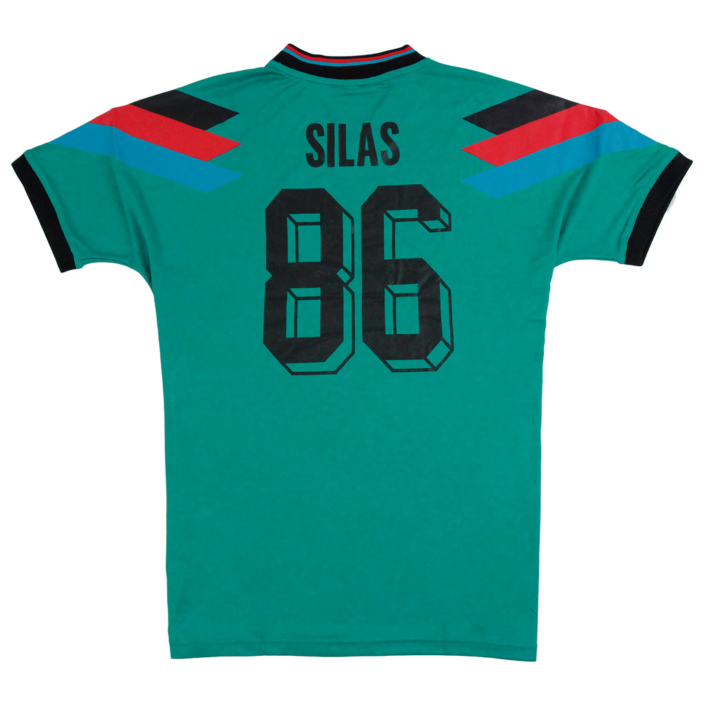 Adidas Skateboarding Silas Germany Jersey in Green - Back