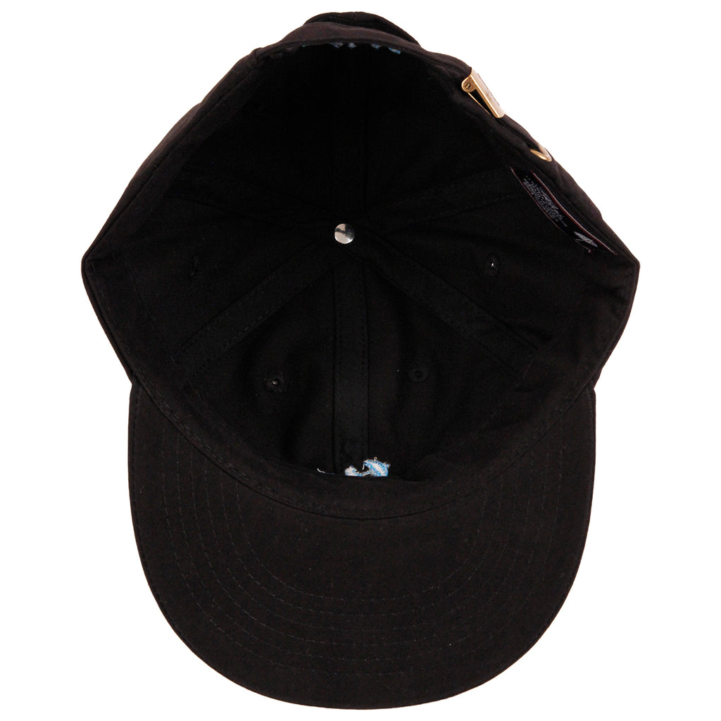 Helas Baller 6 Panel Cap - Black