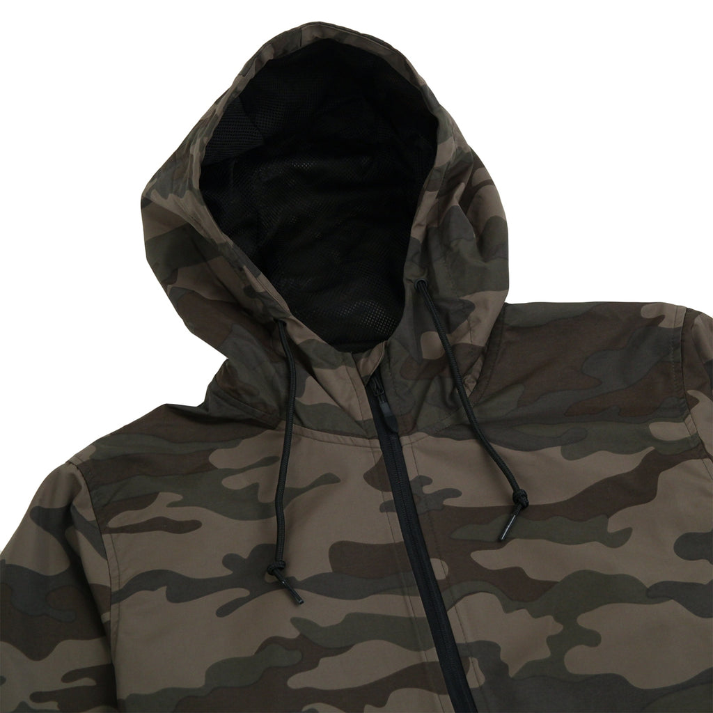 "Bored of Southsea ""Southsea"" Windbreaker Anorak Jacket in Camo - Hood"
