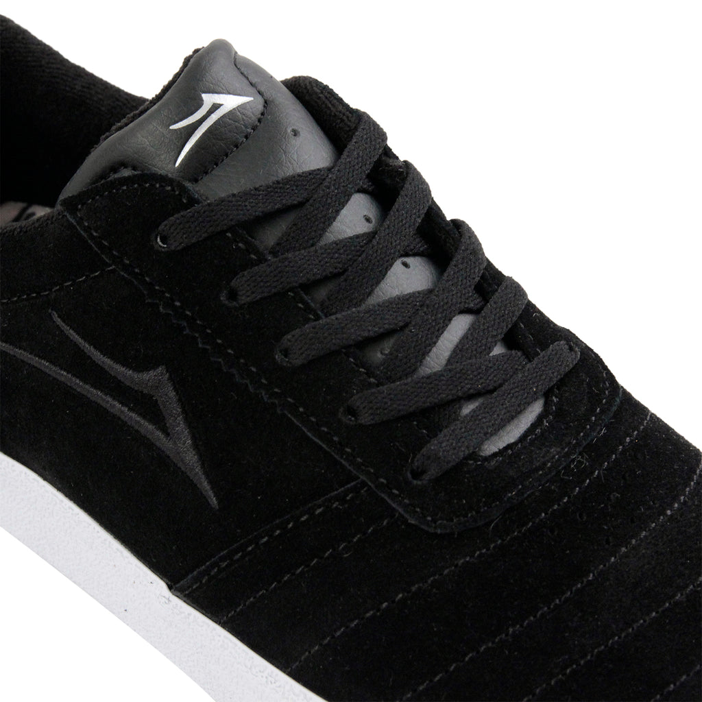 Lakai Anchor Salford Shoes in Black Suede - Detail