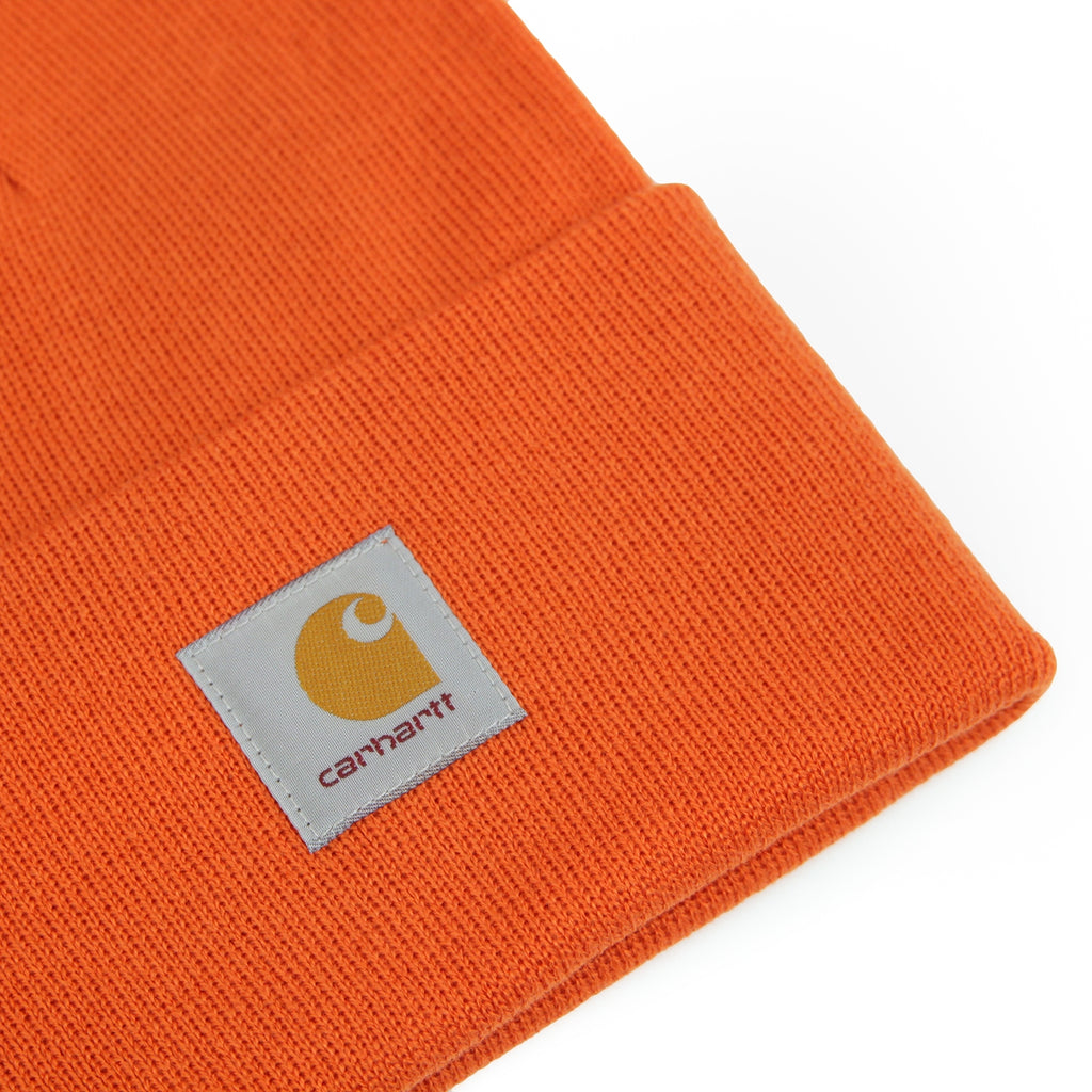 Carhartt Watch Hat in Persimmon - Detail