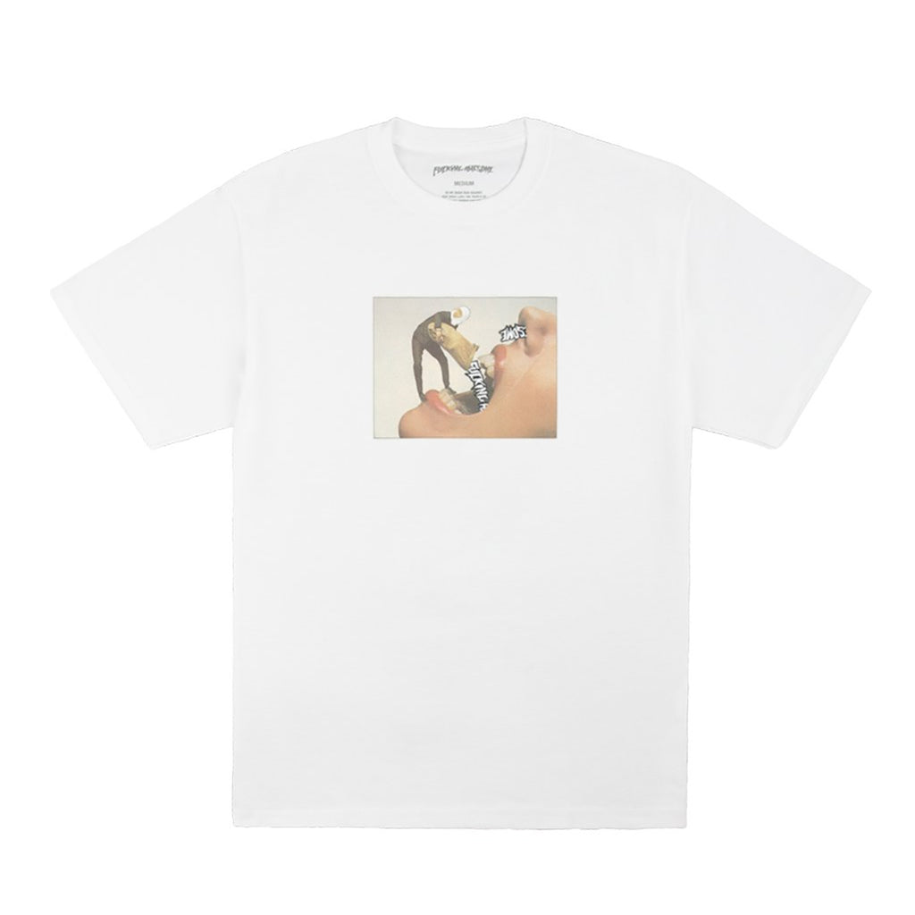 Fucking Awesome Septum T Shirt in White