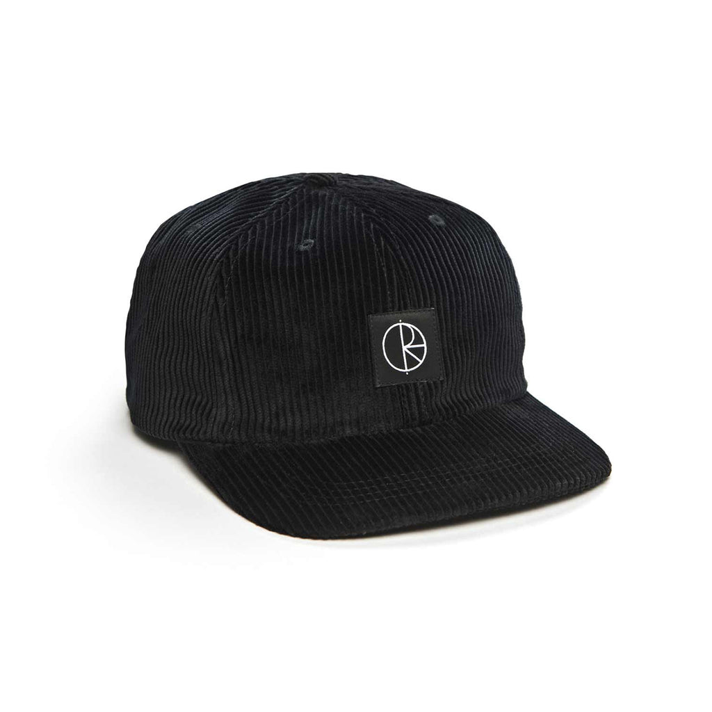 Polar Skate Co Corduroy Cap in Black