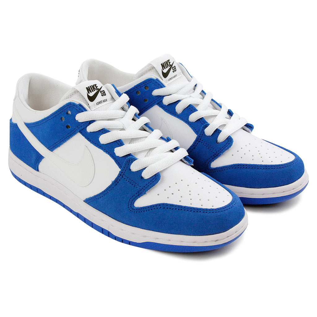 Nike SB Dunk Low Pro Ishod Wair Shoes in Blue Spark / White - Black - Pair