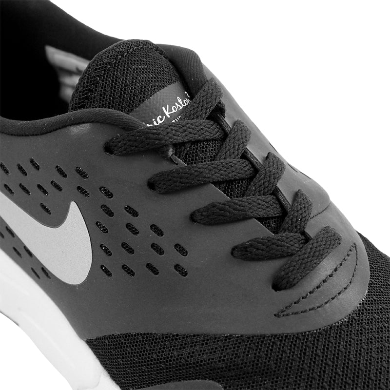 Nike SB Eric Koston 2 Max Shoes in Black / Metallic Silver / White - Laces