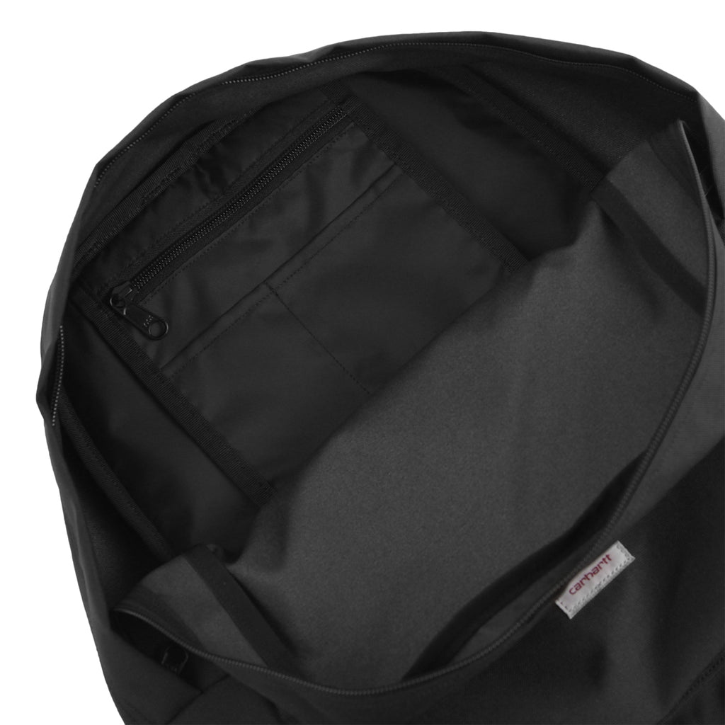 Carhartt Watch Backpack in Soot / Black - Open
