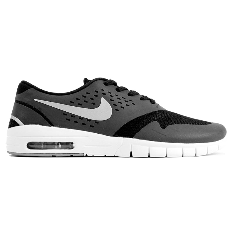 Nike SB Eric Koston 2 Max Shoes in Black / Metallic Silver / White