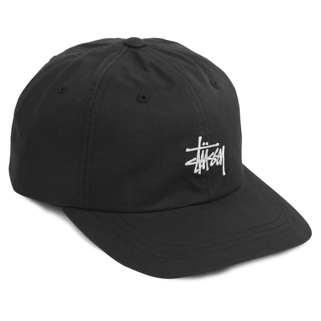 3292f80d29289 Stock Low Pro Cap in Black by Stussy