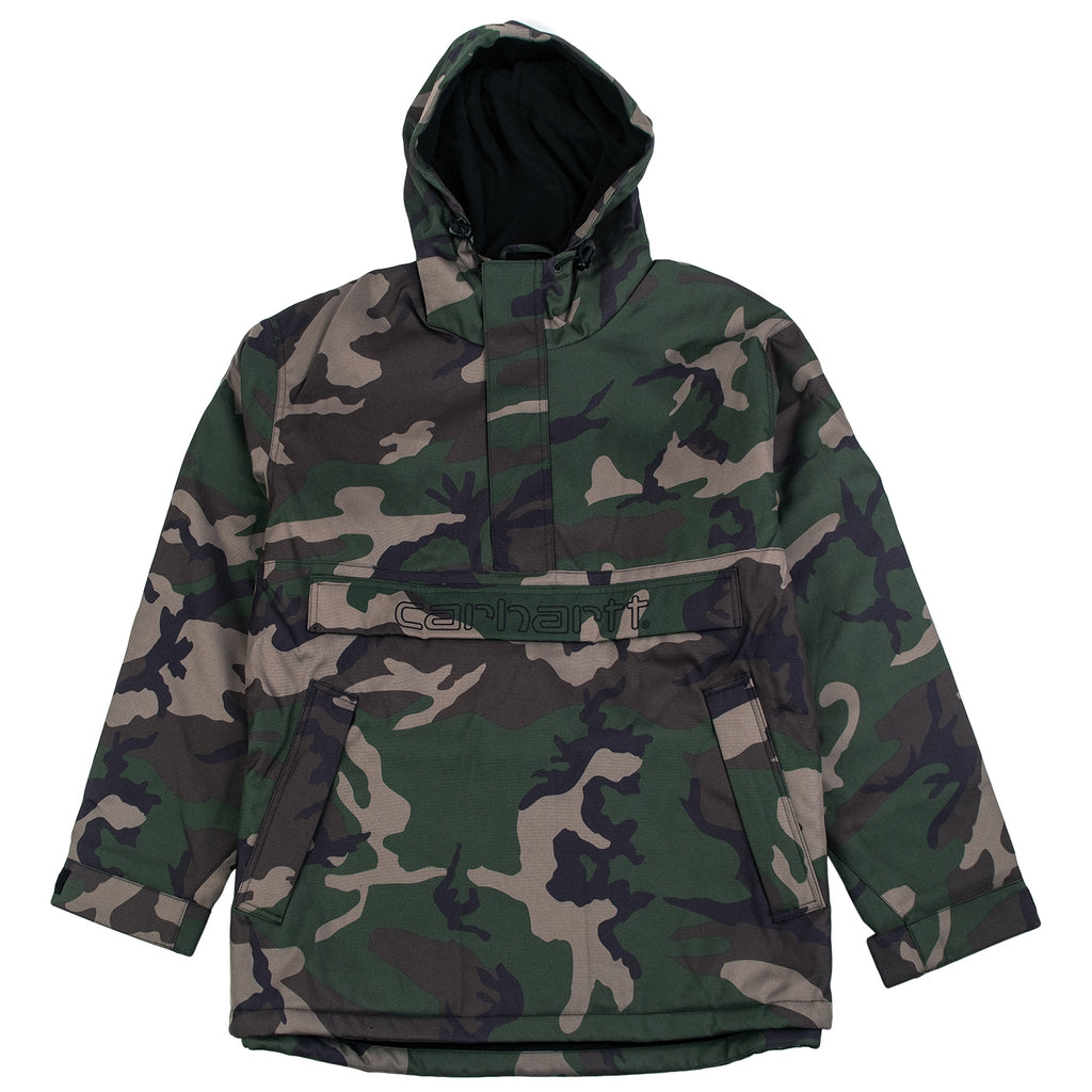 Carhartt Visner Pullover Jacket in Camo Laurel