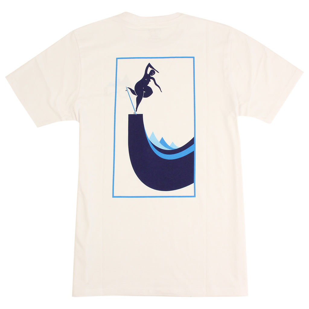 Polar Skate Co Cut Out BS Nosepick T Shirt in White