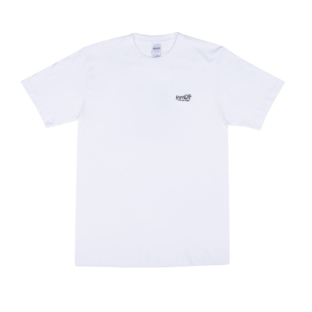 RIPNDIP Great Wave T Shirt in White - Detail