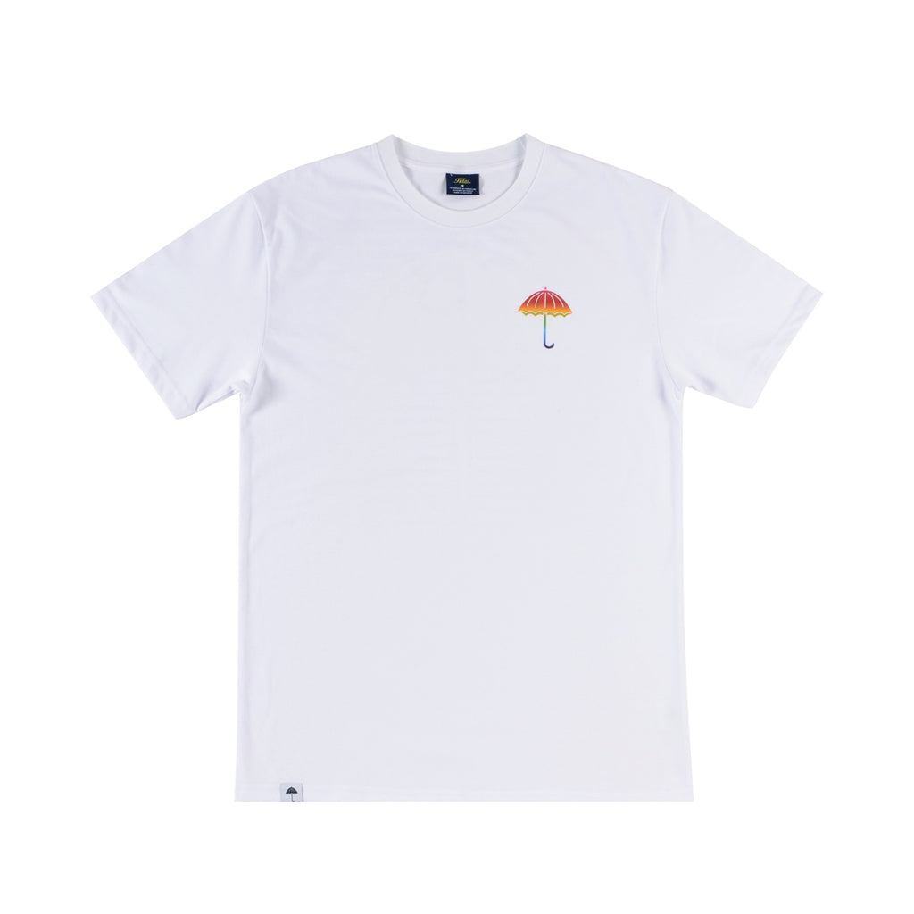 Helas UMB High Def T Shirt in White - Front