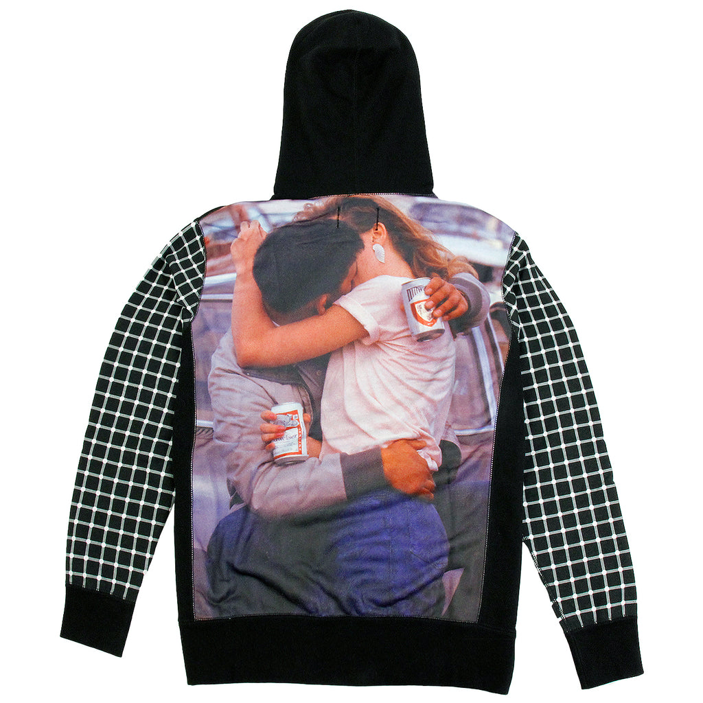 Fucking Awesome America Hoodie in Black - Back