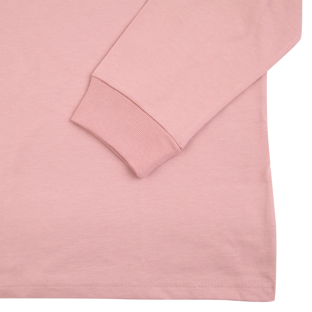Carhartt L/S Chase T Shirt in Soft Rose / Gold - Cuff