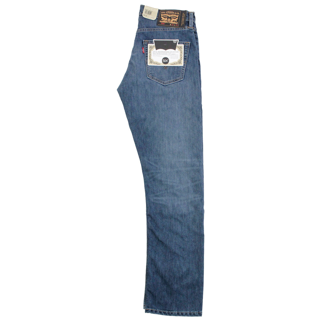 Levis Skateboarding 504 Straight Jeans in Turk - Leg profile