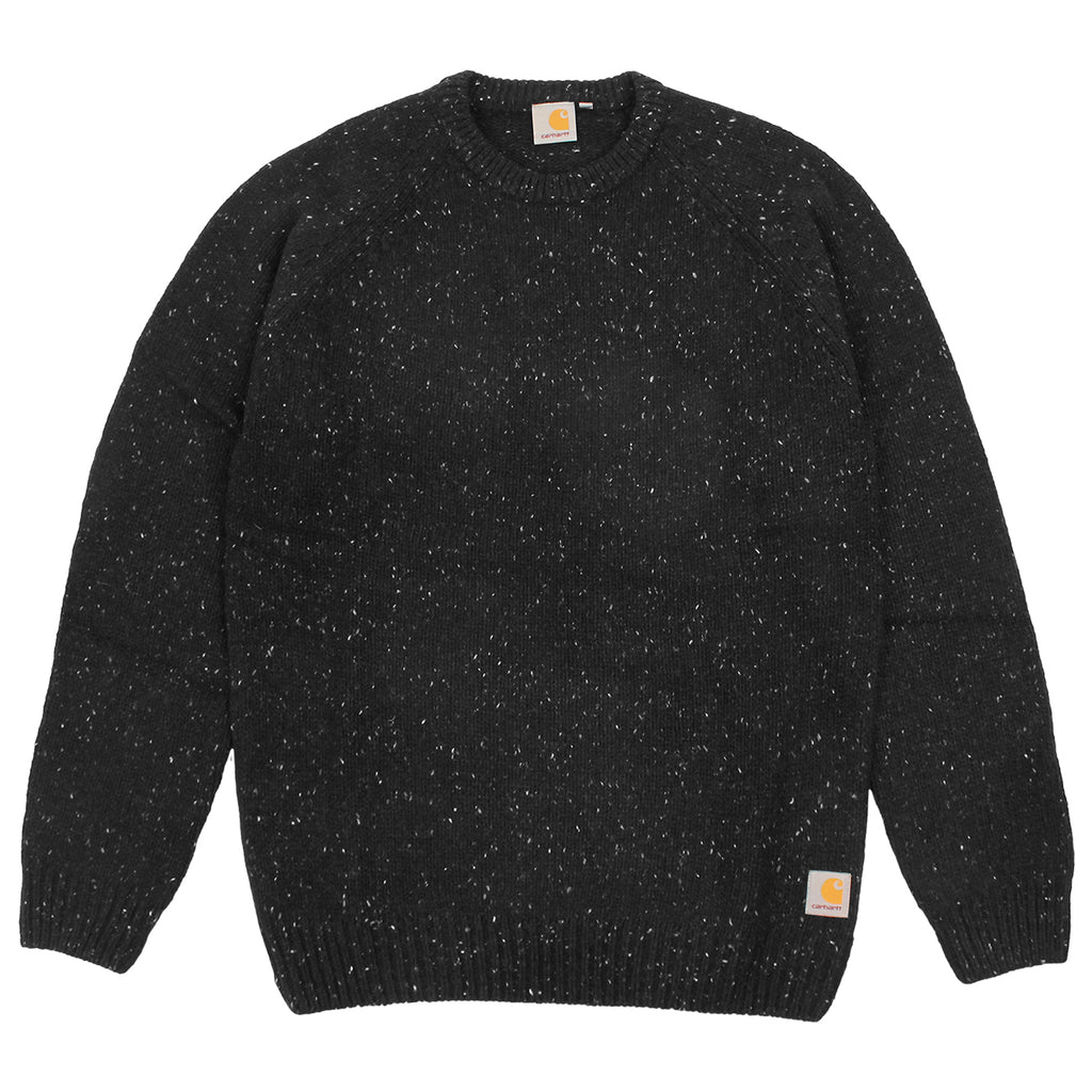 Carhartt Anglistic Sweater in Black Heather